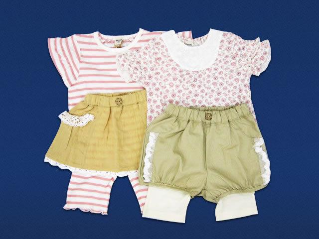 女児ベビー服各種