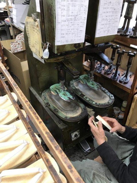 オリジナル草履作り