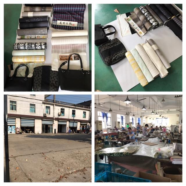 中国上海近郊の草履バック製造工場を視察して参りました!